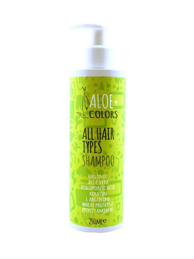 All Hair Types Shampoo Aloe+Colors by Aloe Plus