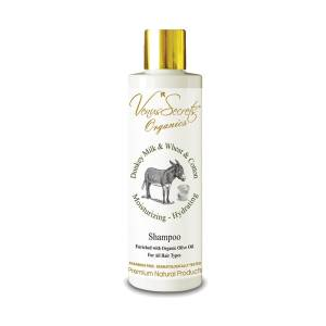 Shampoo with Donkey Milk and Wheat and Cotton by Venus Secrets Organics