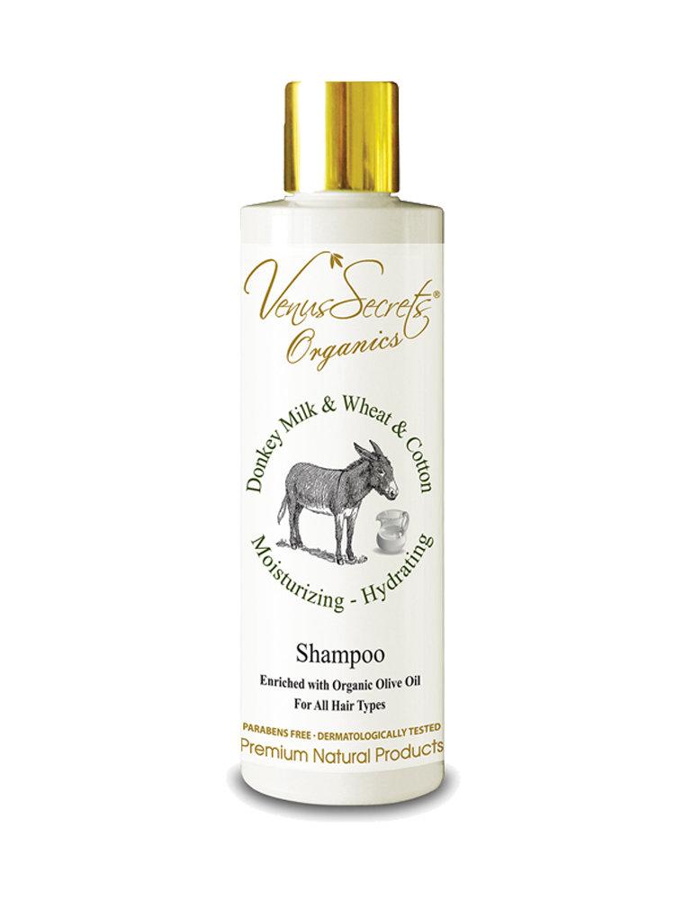 Shampoo with Donkey Milk and Wheat and Cotton by Venus Secrets Organics