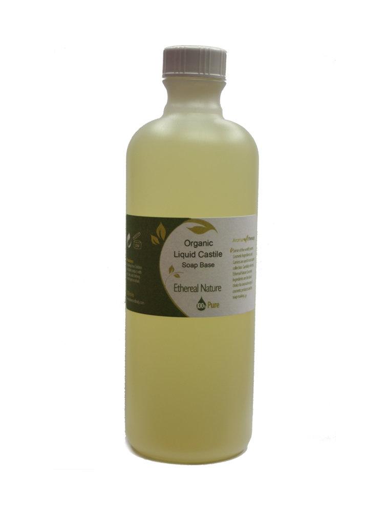Οργανικό υγρό σαπούνι Καστίλλης Βάση
