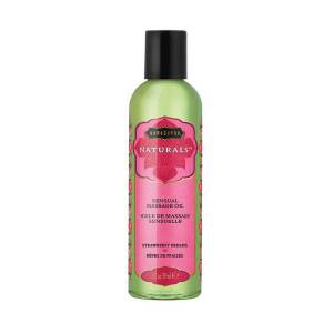 Λάδι Massage Strawberry Dreams 59ml - The Naturals by Kamasutra