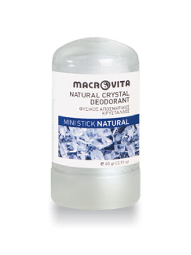 Φυσικός Κρύσταλλος Άοσμος 60 gr Macrovita